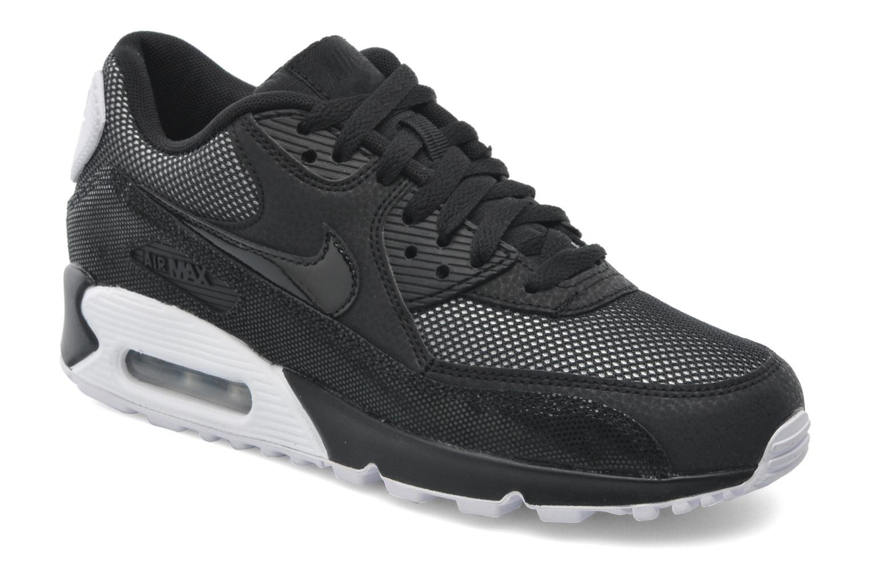 Baskets Nike Wmns Air Max 90 Prem Noir vue détail/paire