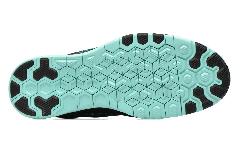 Wmns Nike Free 5.0 Tr Fit 5 Prt Black/Hot Lava-Artisan Teal