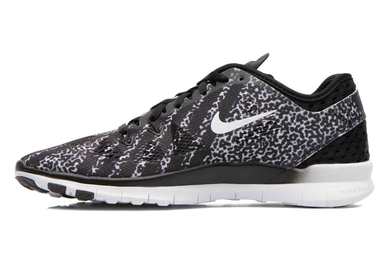 Sportschoenen Nike Wmns Nike Free 5.0 Tr Fit 5 Prt Zwart voorkant