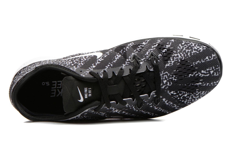 Chaussures de sport Nike Wmns Nike Free 5.0 Tr Fit 5 Prt Noir vue gauche