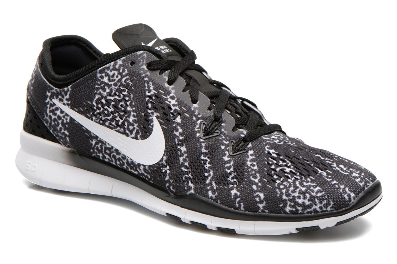 Chaussures de sport Nike Wmns Nike Free 5.0 Tr Fit 5 Prt Noir vue détail/paire