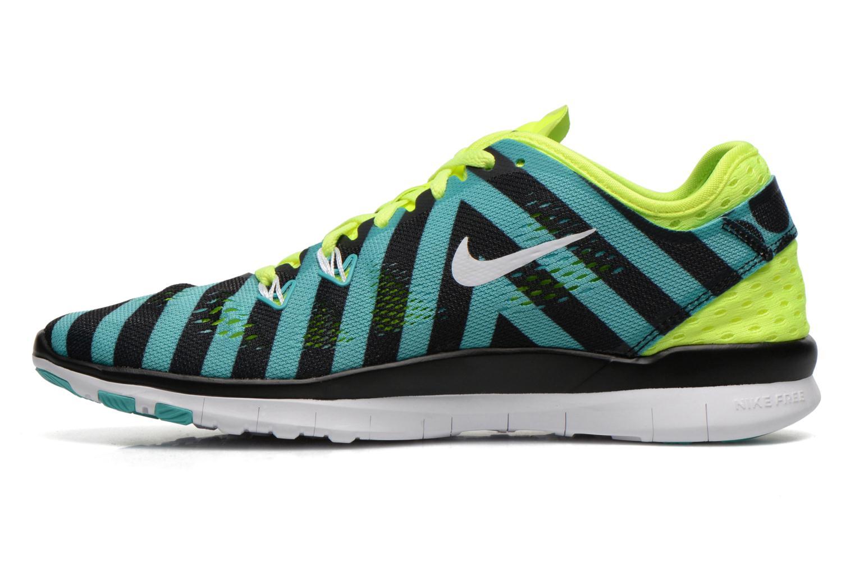 Wmns Nike Free 5.0 Tr Fit 5 Prt Lt Retro/White-Black-Volt