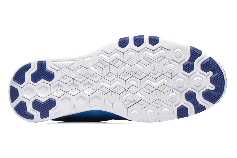 Sportschuhe Nike Wmns Nike Free 5.0 Tr Fit 5 Prt blau ansicht von oben