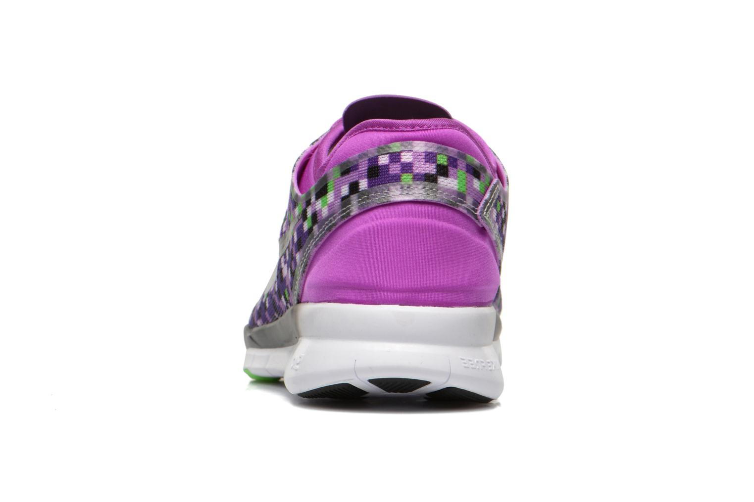 Wmns Nike Free 5.0 Tr Fit 5 Prt Vivid Purple/Black-Vltg Green