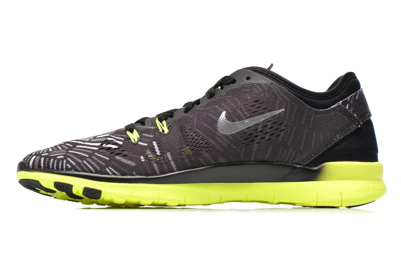 Sportschuhe Nike Wmns Nike Free 5.0 Tr Fit 5 Prt schwarz ansicht von vorne