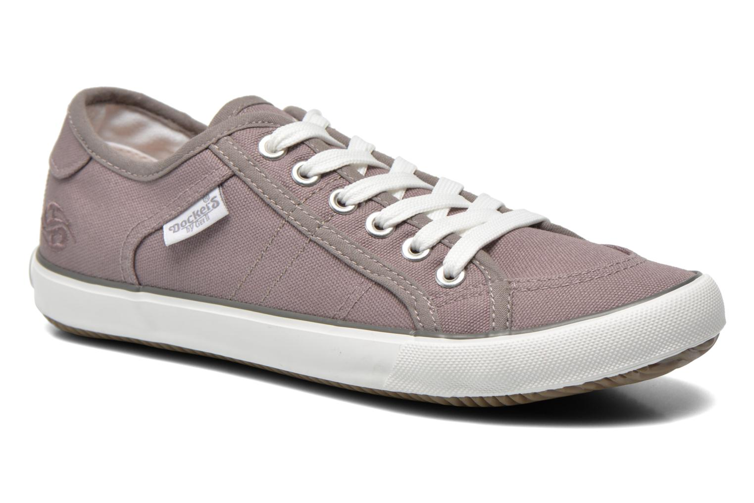 Trainers Dockers Luppé Grey detailed view/ Pair view