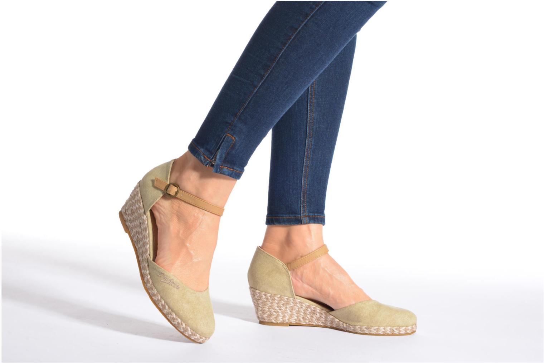 Sandales et nu-pieds Dockers Valet Bleu vue bas / vue portée sac
