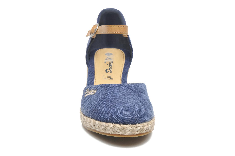 Sandales et nu-pieds Dockers Valet Bleu vue portées chaussures