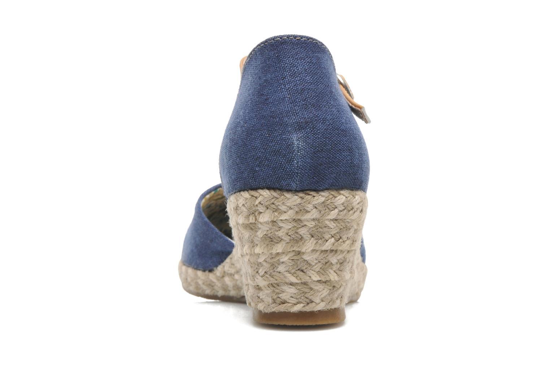 Sandales et nu-pieds Dockers Valet Bleu vue droite