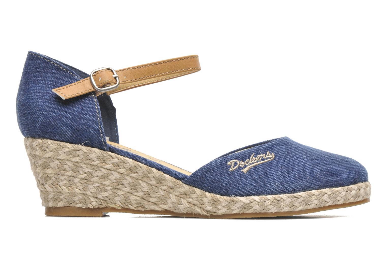 Sandales et nu-pieds Dockers Valet Bleu vue derrière