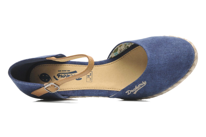Sandales et nu-pieds Dockers Valet Bleu vue gauche