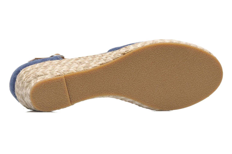 Sandales et nu-pieds Dockers Valet Bleu vue haut