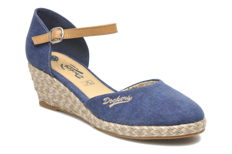 Sandales et nu-pieds Dockers Valet Bleu vue détail/paire