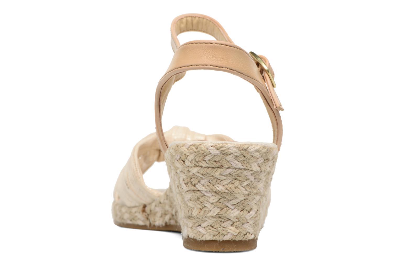 Sandales et nu-pieds Dockers Jekky Or et bronze vue droite