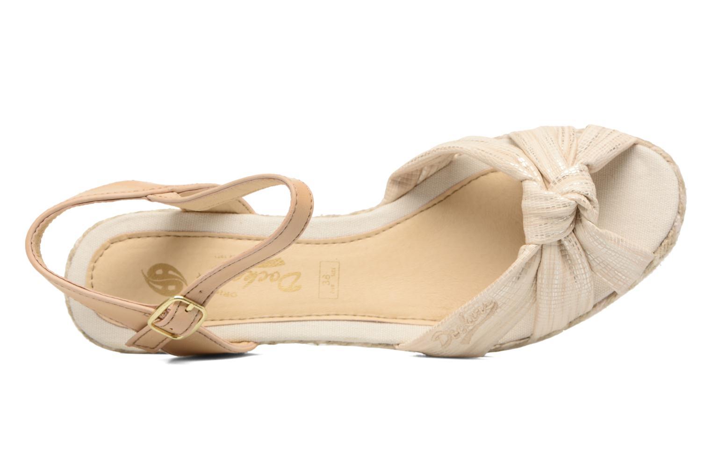 Sandales et nu-pieds Dockers Jekky Or et bronze vue gauche