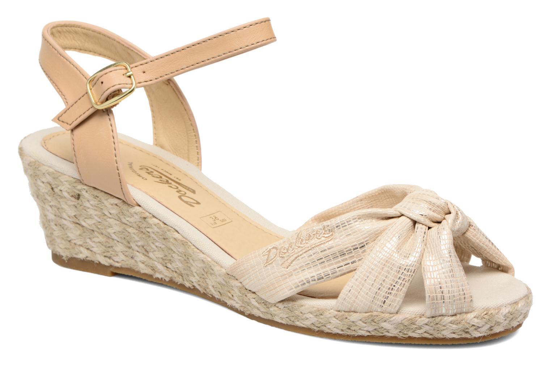 Sandales et nu-pieds Dockers Jekky Or et bronze vue détail/paire