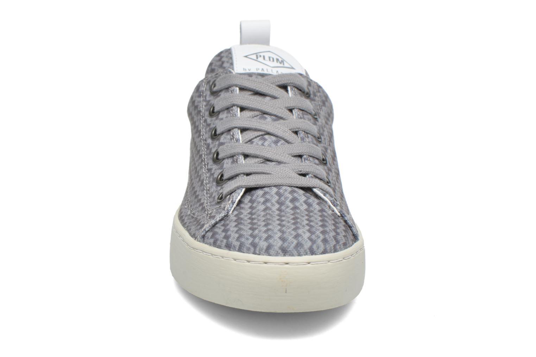 Baskets P-L-D-M By Palladium Ganama Print Gris vue portées chaussures