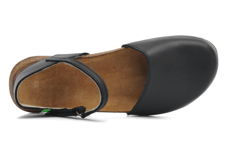 Sandales et nu-pieds El Naturalista Wakataua N412 Noir vue gauche