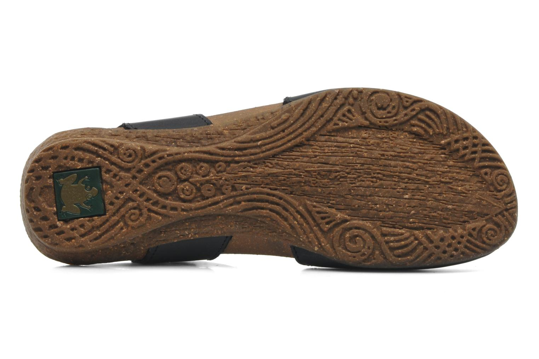 Sandales et nu-pieds El Naturalista Wakataua N412 Noir vue haut