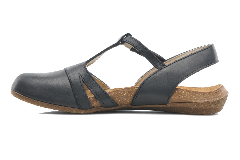 Sandales et nu-pieds El Naturalista Wakataua ND72 Noir vue face
