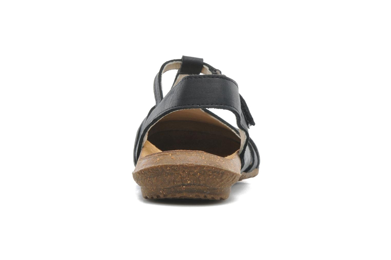 Sandales et nu-pieds El Naturalista Wakataua ND72 Noir vue droite