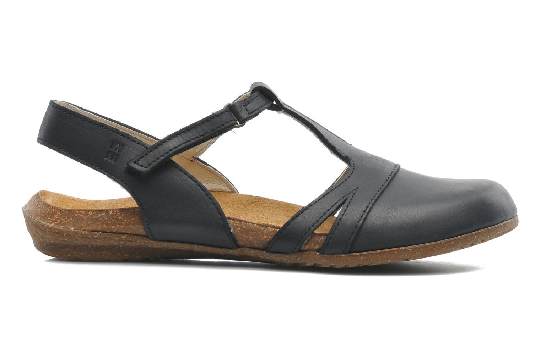 Sandales et nu-pieds El Naturalista Wakataua ND72 Noir vue derrière