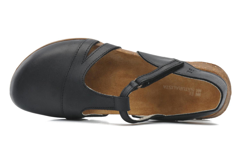 Sandales et nu-pieds El Naturalista Wakataua ND72 Noir vue gauche