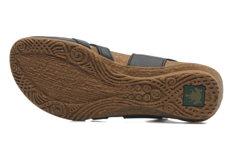 Sandales et nu-pieds El Naturalista Wakataua ND72 Noir vue haut