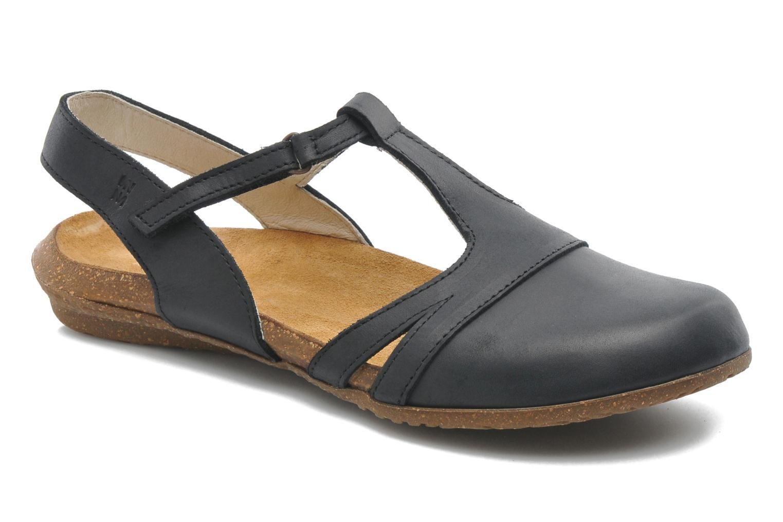 Sandales et nu-pieds El Naturalista Wakataua ND72 Noir vue détail/paire