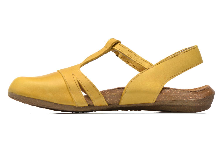 Sandales et nu-pieds El Naturalista Wakataua ND72 Jaune vue face