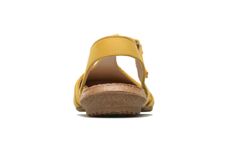 Sandales et nu-pieds El Naturalista Wakataua ND72 Jaune vue droite