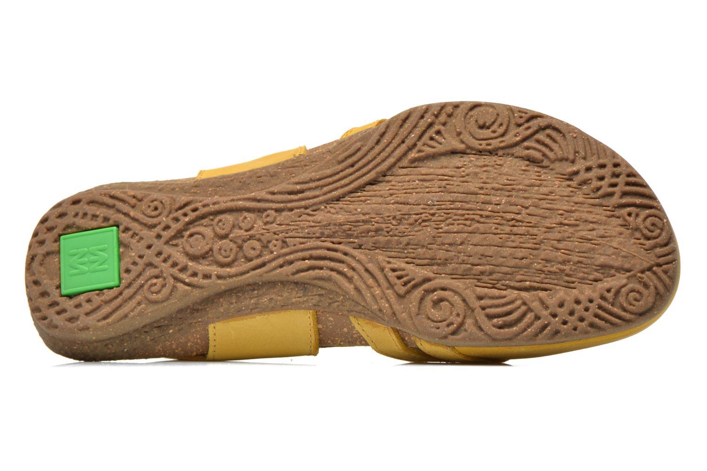Sandales et nu-pieds El Naturalista Wakataua ND72 Jaune vue haut