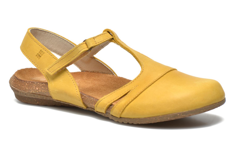 Sandales et nu-pieds El Naturalista Wakataua ND72 Jaune vue détail/paire