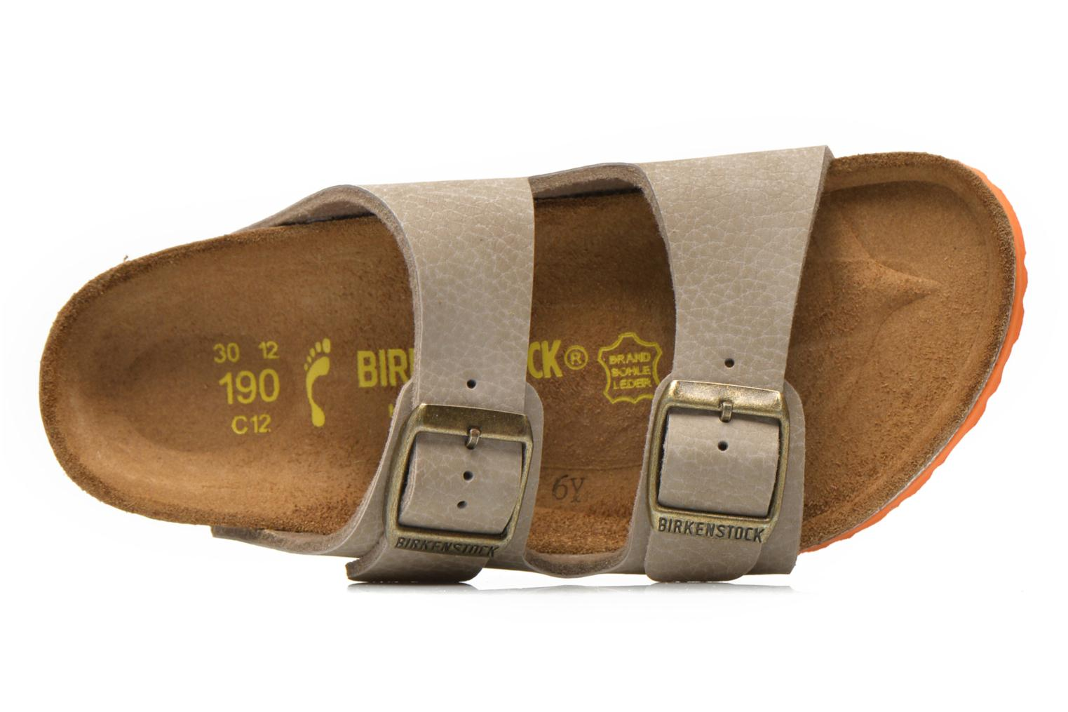 Sandals Birkenstock Arizona Birko-Flor Grey view from the left