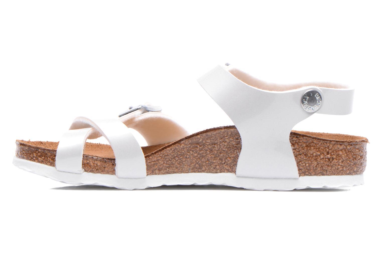 Sandales et nu-pieds Birkenstock TAORMINA Blanc vue face