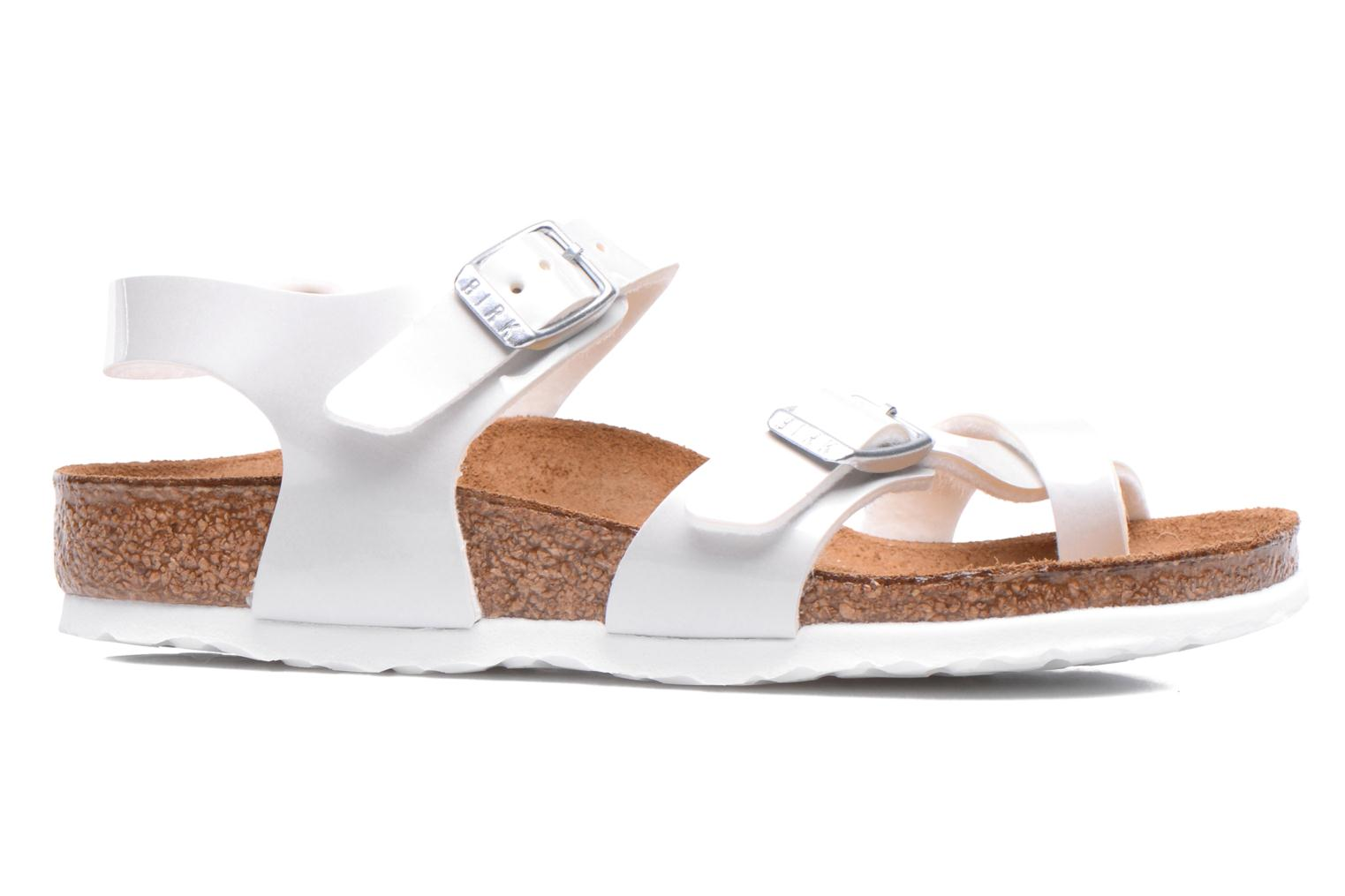 Sandals Birkenstock TAORMINA White back view