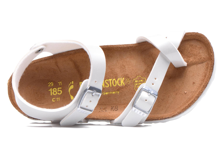 Sandales et nu-pieds Birkenstock TAORMINA Blanc vue gauche