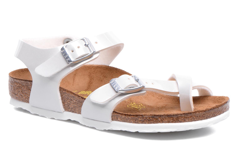 Sandales et nu-pieds Birkenstock TAORMINA Blanc vue détail/paire