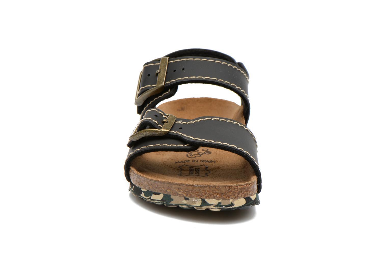 Sandals Birkenstock NEW YORK Black model view