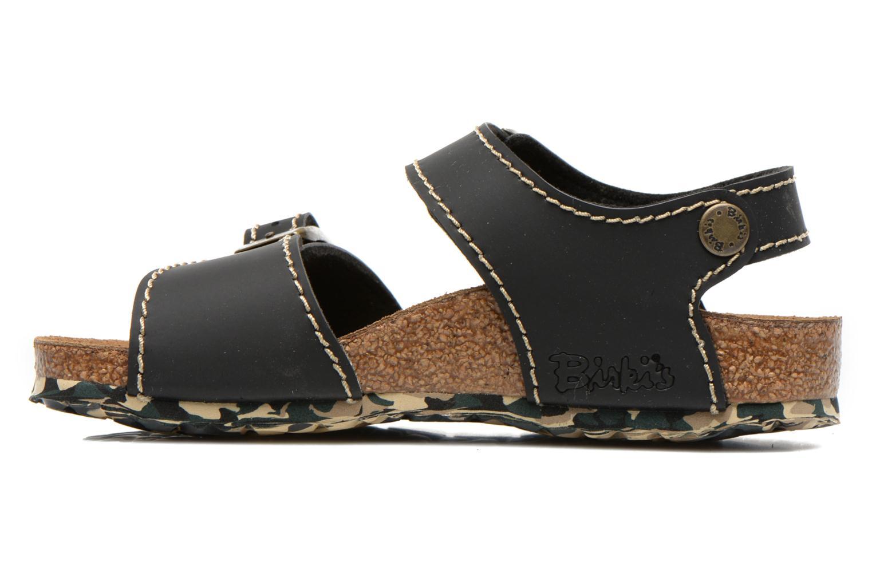 Sandales et nu-pieds Birkenstock NEW YORK Noir vue face
