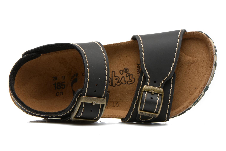 Sandales et nu-pieds Birkenstock NEW YORK Noir vue gauche