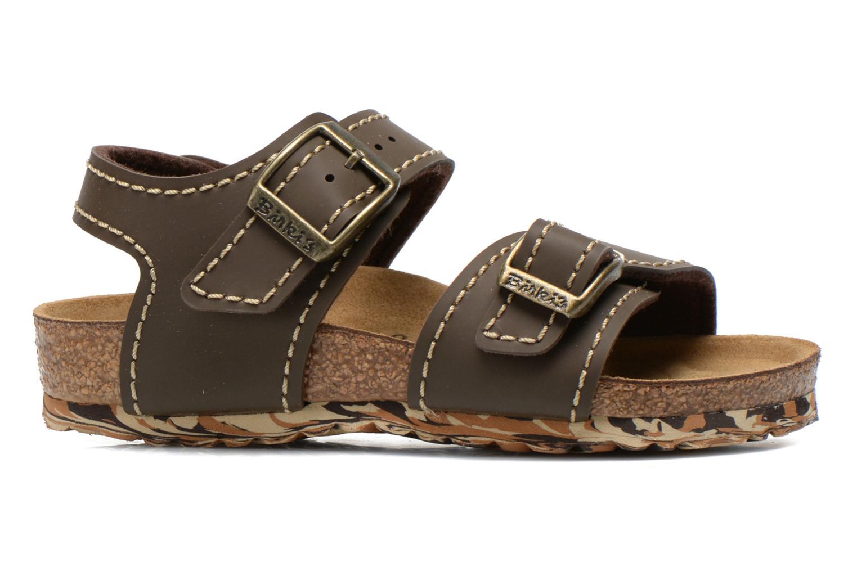 Sandales et nu-pieds Birkenstock NEW YORK Marron vue derrière
