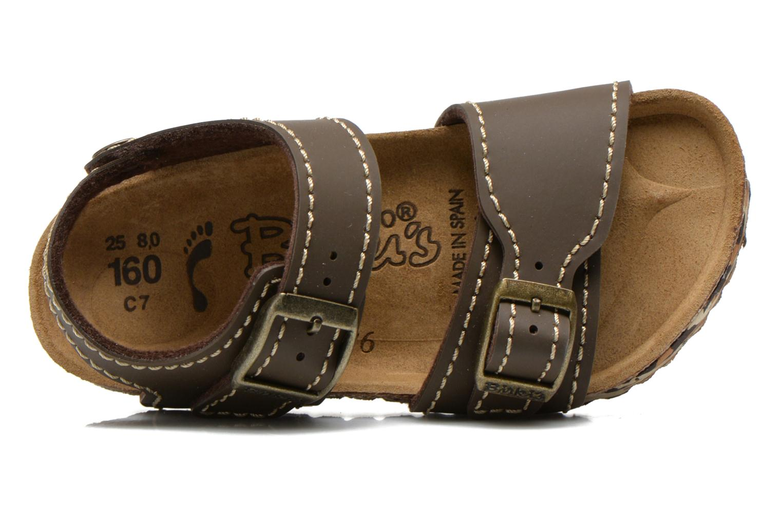 Sandalen Birkenstock NEW YORK Bruin links