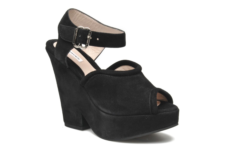Grandes descuentos últimos zapatos Carven Gabrielly (Negro) - Sandalias Descuento