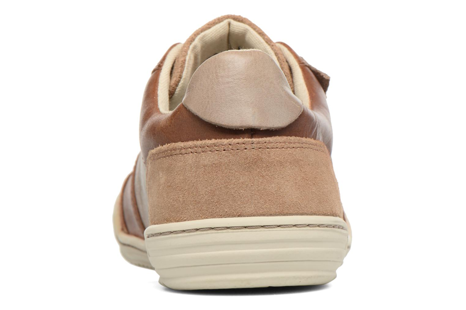 Baskets Kickers Jexplore Marron vue droite