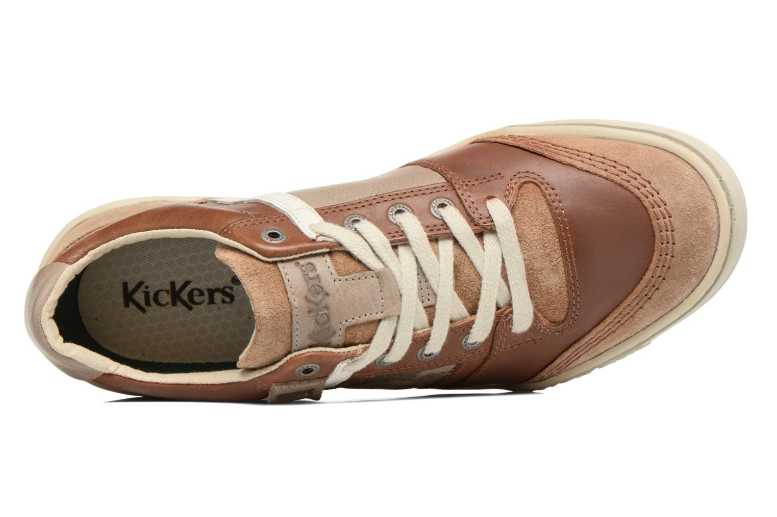Baskets Kickers Jexplore Marron vue gauche