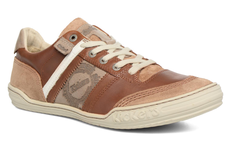 Sneakers Kickers Jexplore Brun detaljeret billede af skoene