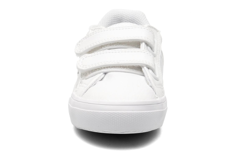 Baskets Lacoste FAIRLEAD FSM SPI Blanc vue portées chaussures