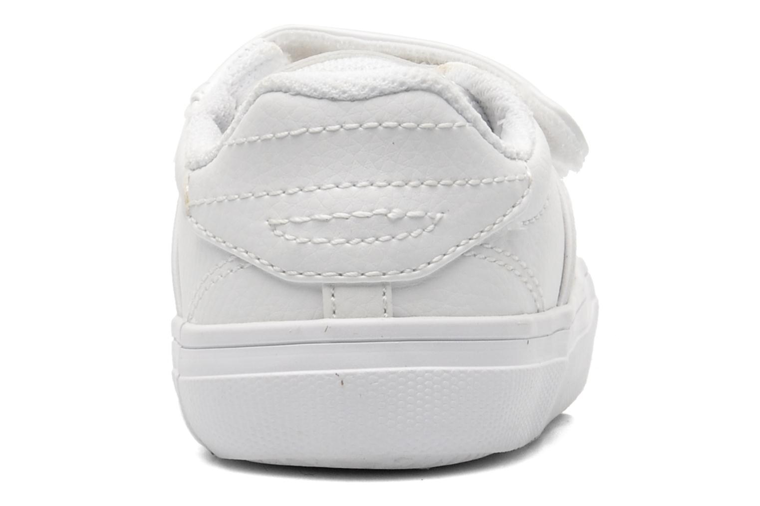 Trainers Lacoste FAIRLEAD FSM SPI White view from the right