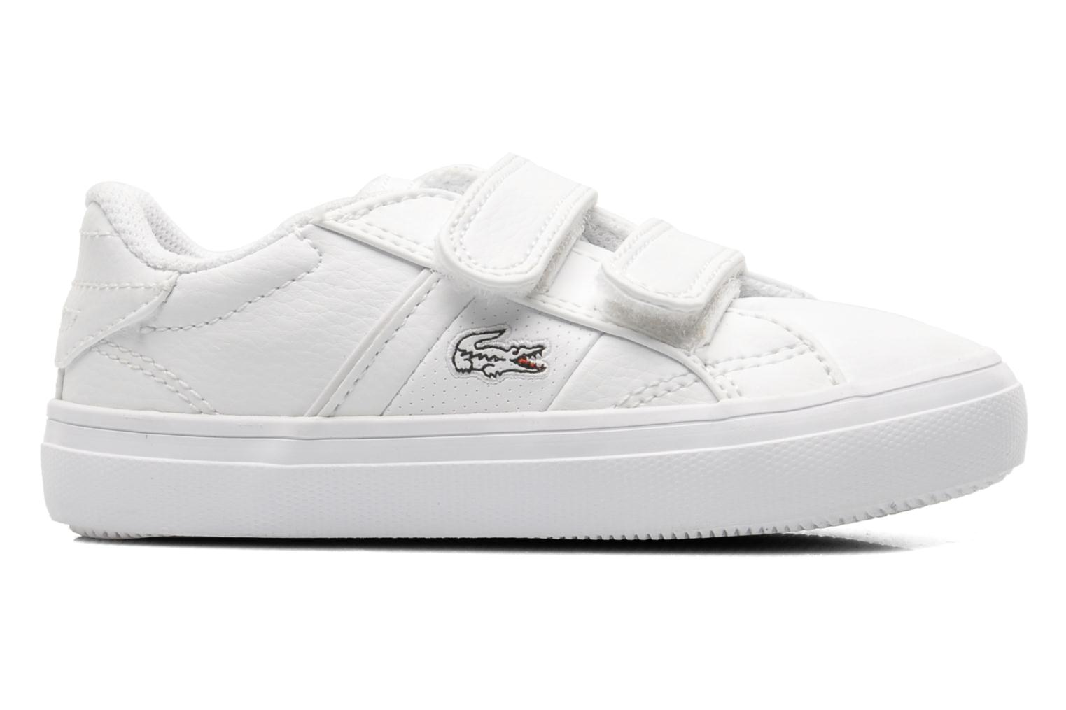 Trainers Lacoste FAIRLEAD FSM SPI White back view